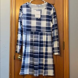 Dresses & Skirts - Plaid dress size small